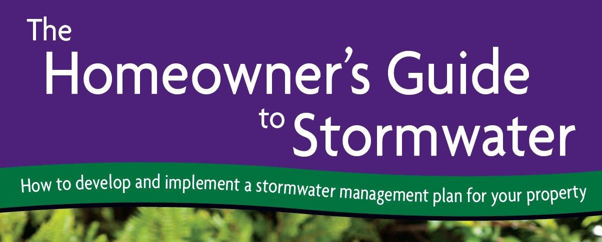 Homeowners guide to Stormwater